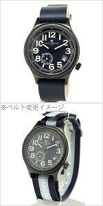 スマートターンアウト腕時計[SMARTTURNOUT時計](SMARTTURNOUT腕時計スマートターンアウト時計)メンズ腕時計/ネイビー/ST-007-BBL[人気お洒落おしゃれブラックネイビー黒色スリムスタンダード]
