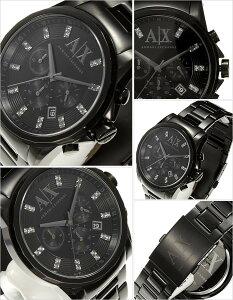 アルマーニエクスチェンジ腕時計[ArmaniExchange時計](ArmaniExchange腕時計アルマーニエクスチェンジ時計)メンズ腕時計/ブラック/AX2093[おしゃれ送料無料]