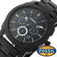 フォッシル 腕時計 メンズ レディース 男女兼用 [ FOSSIL ] フォッシル 時計 [ fossil 腕時計 メンズ レディース ] マシーン MACHINE ブラック FS4552[人気/日付機能/日付表示/メタルベルト 革ベルト ]