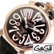 ガガミラノ [ GaGaMILANO ] ガガミラノ 腕時計 [ GaGaMILANO 腕時計 ] ガガ ミラノ [ GaGa MILANO ] ガガミラノ 時計 ガガ腕時計 [ GaGa腕時計 ] マヌアーレ マニュアーレ MANUALE ブラック ホワイト メンズ レディース GG-501112S [ 人気 ]