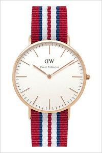 ダニエルウェリントン腕時計[DanielWellington時計](DanielWellington腕時計ダニエルウェリントン時計)クラシックエクセターローズ(CLASSIC40mm)メンズ/レディース/ユニセックス腕時計/オフホワイト/0112DW