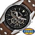 フォッシル 腕時計 メンズ レディース 男女兼用 [ FOSSIL ] フォッシル 時計 [ fossil 腕時計 メンズ レディース ] コーチ マン COACH MAN ブラック CH2891 [人気/ビジネス/防水/クロノグラフ/カレンダー]