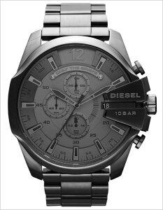 ディーゼル腕時計[DIESEL時計](DIESEL腕時計ディーゼル時計)メガチーフ(MEGACHIEF)メンズレディースユニセックス/男女兼用腕時計/ガンメタリック/DZ4282[おしゃれdieselmegachief送料無料]