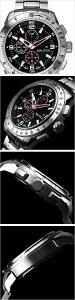 ノーティカ腕時計[NAUTICA時計](NAUTICA腕時計ノーティカ時計)(NST101)メンズ腕時計/ブラックホワイト/A21522G[送料無料アナログシルバーおしゃれ]