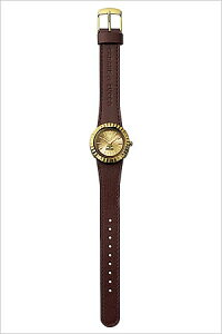 カバンドズッカ腕時計[CABANEdeZUCCA時計](CABANEdeZUCCA腕時計カバンドズッカ時計)ジュウゴヤ(15-YA)メンズレディースユニセックス/男女兼用腕時計/ゴールド/AWGK080[送料無料アナログおしゃれかわいい3針十五夜じゅうごやダークブラウンゴールド]