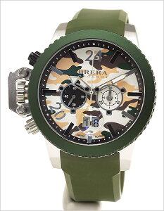 ブレラオロロジ腕時計[BRERAOROLOGI時計](BRERAOROLOGI腕時計ブレラオロロジ時計)メンズ腕時計/ホワイトシルバー/BRML2C4806[送料無料アナログダイバーズグリーン迷彩カーモオロロージ]