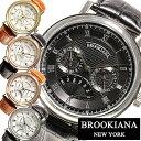 自動巻き 腕時計 ブルッキアーナ腕時計 BROOKIANA時計 BRO...
