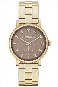 マークバイマークジェイコブス腕時計[MARCBYMARCJACOBS時計](MARCBYMARCJACOBS腕時計マークバイマークジェイコブス時計)ベイカー(Baker)メンズレディースユニセックス/男女兼用腕時計/グレー/MBM3281[アナログメタルバンドブラックゴールド灰黒金3針]