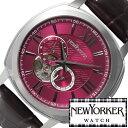 ニューヨーカー腕時計 NEWYORKER時計 自動巻き 腕時計 時計 機械式腕時計 機械式 NEW YORKER ニューヨーカー タイムパーソン Timeperso..