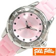 フォリフォリ 時計 レディース 女性 [ folli follie ] 腕時計 ピンク WF8A024ZPPI [ジュエリー/ストーン/防水/ダイヤ/クリスタル/シルバー/銀/3針]
