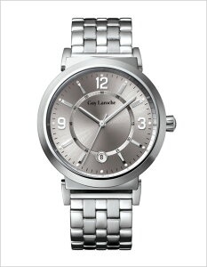 ギラロッシュ腕時計[GuyLaroche時計](GuyLaroche腕時計ギラロッシュ時計)メンズ腕時計/シルバー/G2005-04[アナログTIMEPIECESメンズウォッチオールシルバー銀3針]
