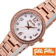 フォリフォリ 時計 レディース 女性 [ folli follie ] 腕時計 アリアウォッチ ARRIA WATCH/シルバーホワイト WF2B015BSS [ピンクゴールド/アウトレット]