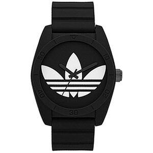 アディダスオリジナルス腕時計[adidasoriginals時計](adidasoriginals腕時計アディダスオリジナルス時計)サンティアゴ(SANTIAGO)メンズレディース/ブラック/ADH6167[スポーツウォッチアナログ人気おしゃれかわいいブランド白黒ブラックホワイト]