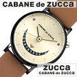 【正規品】【5年延長保証】 カバンドズッカ 腕時計 [ CABANE de ZUCCA 時計 ] ズッカ スマイル 2 [ SMILE 2 ] メンズ レディース ゴールド ブラウン AJGJ012 [ おしゃれ プレゼント 薄型 ]