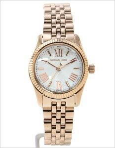 【送料無料】マイケルコース腕時計[MichaelKors時計](MichaelKors腕時計マイケルコース時計)プチレキシントン(PetiteLexington)レディース腕時計/ホワイト/MK3230[人気/おしゃれ/ブランド/ファッション/NY/セレブ/ローズゴールド/金/白]