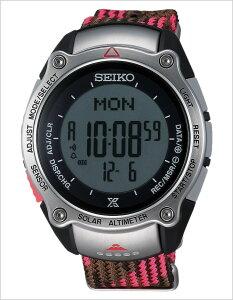 [送料無料]セイコー腕時計[SEIKO時計](SEIKO腕時計セイコー時計)プロスペックス(PROSPEX)メンズ腕時計/ブラック/SBEB037[デジタル/液晶/アルピニスト富士山世界遺産記念モデル/「赤富士」ソーラー/限定/グレー]
