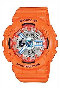 [送料無料]カシオ腕時計[CASIO時計](CASIO腕時計カシオ時計)ベイビージー(BABY-G)レディース腕時計/レッド/CASIOW-BA-110SN-4A[アナデジ/デジタル/液晶/防水/グレー/オレンジ]