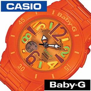 [送料無料]カシオ腕時計[CASIO時計](CASIO腕時計カシオ時計)ベイビージー(BABY-G)レディース腕時計/オレンジ/CASIOW-BGA-171-4B2[アナデジ/デジタル/液晶/防水/マルチカラー/ネオン/シンプル]