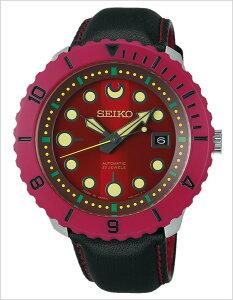 [送料無料]セイコー腕時計[SEIKO時計](SEIKO腕時計セイコー時計)スピリットスマートメカニカル(SPIRITSMARTMechanical)メンズ腕時計/レッド/SCVE013[機械式/自動巻/秘密結社鷹の爪コラボレーション限定モデル総統/4R35]
