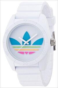 アディダスオリジナルス腕時計[adidasoriginals時計](adidasoriginals腕時計アディダスオリジナルス時計)サンティアゴ(SANTIAGO)メンズ/レディース/ホワイト/ADH2916[シリコンベルト/スポーツウォッチ/人気/おしゃれ/かわいい/ブランド/マルチカラー]