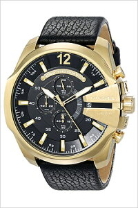 [送料無料]ディーゼル腕時計[DIESEL時計](DIESEL腕時計ディーゼル時計)メガチーフ(MEGACHIEF)メンズ腕時計/ブラック/DZ4344[人気/ブランド/おしゃれ/ビジネス/カジュアル/新作/プレゼント/ギフト/防水]