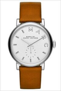[送料無料]マークバイマークジェイコブス腕時計[MARCBYMARCJACOBS時計](MARCBYMARCJACOBS腕時計マークバイマークジェイコブス時計)ベイカー(Baker)レディース腕時計/ホワイト/MBM1265[革ベルト/人気/新作/ブランド/プレゼント/ギフト/ブラウン/シルバー]