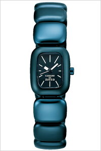 [送料無料]カバンドズッカ腕時計[CABANEdeZUCCA時計](CABANEdeZUCCA腕時計カバンドズッカ時計)チューインガム・タブレット(TABLET)レディース腕時計/ブラック/AJGK071[メタルベルト/正規品/SEIKO/ブルー/ネイビー/チュインガム/タブレット/VC01]