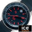 【5年延長保証】【正規品】 アイスウォッチ 腕時計 [ ICE WATCH 時計 ] BMW モータースポーツ スチール ブルー レッド ビッグ BMW Motorsport Steel Big メンズ ブルー BMBRDBL [ レザー ベルト 防水 ビック ]