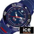 【5年延長保証】 アイスウォッチ 時計[ ICEWATCH 腕時計 ]アイス ウォッチ[ ice watch 腕時計 ]アイス 腕時計 ビーエムダブリュー モータースポーツ シリ ダークブルー/レッド BMW Motorsport SILI Unisex メンズ/レディース BMSIBRDUS [シリコン ベルト/防水]