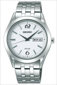[送料無料]セイコー腕時計[SEIKO時計](SEIKO腕時計セイコー時計)スピリット(SPIRIT)メンズ腕時計/ホワイト/SBPX079[メタルベルト/正規品/ソーラー/防水/ペアモデル/シルバー/V158/シンプル]