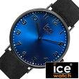 【5年延長保証】 アイスウォッチ腕時計 ICEWATCH時計 ICE WATCH 腕時計 アイス ウォッチ 時計 シティ ダラム City Durham メンズ レディース ブルー CHLADUR36N [ 革 ベルト 防水 アイスシティー レザー ブラック グレー ネイビー ペア ペアウォッチ ]
