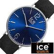 【5年延長保証】 アイスウォッチ腕時計 ICEWATCH時計 ICE WATCH 腕時計 アイス ウォッチ 時計 シティ ノリッジ City Norwich メンズ/レディース/ブルー CHLBNOR36N [革 ベルト/防水/アイスシティー/レザー/ブラック/シルバー/ネイビー/ペア/ペアウォッチ]