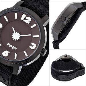 [送料無料]プレイタイム腕時計[P01TIME時計](P01TIME腕時計プレイタイム時計)スーパーアナログチョコレート(SUPERANALOGCHOCOLETE)メンズ腕時計/ブラウン/PL-0002-19[正規品/ナイロンベルト/プレイタイム/PLAYTIME/NATO/ナトー/ブラック/ベルクロ]