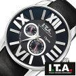 【5年延長保証】 アイティーエー 腕時計 I.T.A. 腕時計 アイティーエー 時計 I.T.A. 時計 [ ITA ] ITA腕時計 ITA時計 オペラ Opera メンズ ブラック ITA-21-00-05 [ 革 ベルト 機械式 自動巻 メカニカル 正規品 イタリア ブランド ファッション クリーム ]