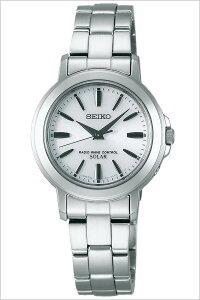 [送料無料]セイコー腕時計[SEIKO時計](SEIKO腕時計セイコー時計)スピリット(SPIRIT)レディース腕時計/ホワイト/SSDT047[メタルベルト/正規品/ソーラー電波/流通限定モデル/防水/シルバー/かわいい]