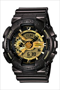 [送料無料]カシオ腕時計[CASIO時計](CASIO腕時計カシオ時計)Gショックガリッシュゴールドシリーズ(GSHOCKGarishGoldSeries)メンズ/腕時計/ゴールド/CASIOW-GA-110BR-5A[人気/ブランド/防水/ブラック/ゴールド/アナデジ/ジーショック/G-SHOCK]