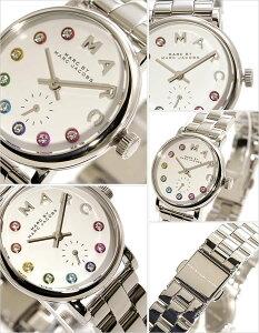[送料無料]マークバイマークジェイコブス腕時計[MARCBYMARCJACOBS時計](腕時計マークバイマークジェイコブス時計)ベイカー(Baker)レディース腕時計/ホワイト/MBM3423[メタルベルト/人気/新作/ブランド/グリッツ/シルバー/マルチ/クリスタル/ストーン]