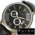 【5年延長保証】 フルボ 時計 メンズ 男性 [ Furbo design ] フルボデザイン 腕時計 ブラック F5028SBKBK [ 人気 ブランド 防水 革 ベルト レザ- 機械式 自動巻き 自動巻 スケルトン ブラック ]