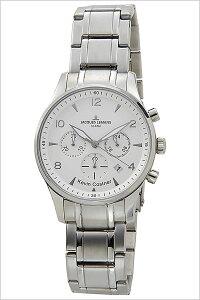 [送料無料]ジャックルマン腕時計[JACQUESLEMANS時計](JACQUESLEMANS腕時計ジャックルマン時計)ケビンコスナーコレクションロンドン腕時計/ホワイト/JAL11-1654J-1[正規品/人気/新作/ブランド/防水/ステンレスベルト/シルバー]