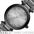マークバイマークジェイコブス 時計 レディース 女性 [ MARC BY MARC JACOBS ] 腕時計 マークジェイコブス 時計 ドッティ DOTTY グレー シルバー MJ3450 [ 人気 ブランド 防水 メタル ベルト ブラック ]