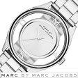 マークバイマークジェイコブス 時計 レディース 女性 [ MARC BY MARC JACOBS ] 腕時計 マークジェイコブス 時計 ティザー Tether シルバー MBM3412 [ 人気 ブランド 防水 メタル ベルト スケルトン ]