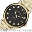 マークバイマークジェイコブス 時計 レディース 女性 [ MARC BY MARC JACOBS ] 腕時計 マークジェイコブス 時計 ベイカー Baker ブラック MBM3421 [ 人気 ブランド 防水 メタル ベルト ゴールド ]