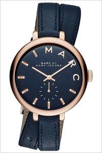 [送料無料]マークバイマークジェイコブス腕時計(MARCBYMARCJACOBS腕時計マークバイマークジェイコブス時計)サリー(Sally)レディース/腕時計/ブルー/MBM8662[人気/新作/流行/ブランド/防水/革ベルト/レザー/シンプル/ピンクゴールド]
