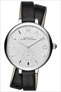 [送料無料]マークバイマークジェイコブス腕時計(MARCBYMARCJACOBS腕時計マークバイマークジェイコブス時計)サリーダブルラップ(SallyDoubleWrap)レディース/腕時計/シルバー/MJ1419[人気/新作/流行/ブランド/防水/革ベルト/レザー/ブラック]