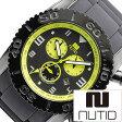 ヌーティッド 腕時計[ NUTID 時計 ]ヌーティッド 時計[ NUTID 腕時計 ]マット ブル MATT BULL メンズ/ブラック N-1403M-B [正規品/デザイナーズウォッチ/ファッション/デザイン/人気/流行/ブランド/防水/シリコン/ラバー/イエロー/プレゼント/ギフト]