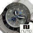 ヌーティッド 腕時計[ NUTID 時計 ]ヌーティッド 時計[ NUTID 腕時計 ]マット ブル MATT BULL メンズ/グレー N-1403M-C [正規品/デザイナーズウォッチ/ファッション/デザイン/人気/流行/ブランド/防水/シリコン/ラバー/ブラック/プレゼント/ギフト]