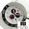 ヌーティッド 腕時計[ NUTID 時計 ]ヌーティッド 時計[ NUTID 腕時計 ]マット ブル MATT BULL メンズ/ホワイト N-1403M-D [正規品/デザイナーズウォッチ/ファッション/デザイン/人気/流行/ブランド/防水/シリコン/ラバー/シルバー/プレゼント/ギフト]
