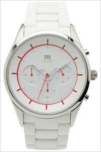 [送料無料]ヌーティッド腕時計[NUTID時計](NUTID腕時計ヌーティッド時計)クレーター(CRATER)メンズ/腕時計/ホワイト/N-1404P-C[正規品/人気/新作/流行/ブランド/防水/シリコン/ラバー/ステンレス/レッド]