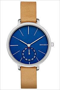 [送料無料]スカーゲン腕時計[SKAGEN時計](SKAGEN腕時計スカーゲン時計)ハーゲン(Hagen)メンズ/レディース腕時計/ブルー/SKW2355[人気/新作/流行/ブランド/防水/革ベルト/レザー/シンプル/北欧/ブラウン]