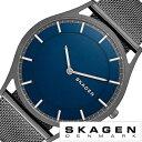 スカーゲン SKAGEN 腕時計 スカーゲン 時計 SKAGEN 時計 スカーゲン 腕時計 メンズ 時計 ホルスト Holst SKW6223 ブルー 青 ブラック 黒 人気 新作 ブランド メッシュベルト シンプル 北欧 薄型 定番 プレゼント ギフト ラッピング 送料無料